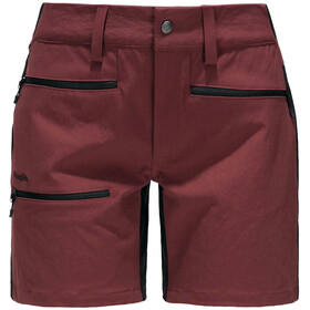 Haglöfs Rugged Flex Shorts Women maroon red/true black